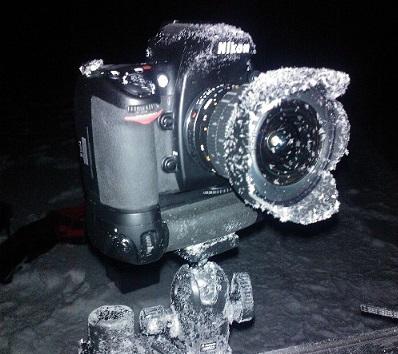 Icy camera
