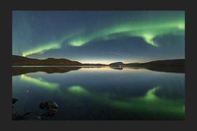 Mirror auroras on September