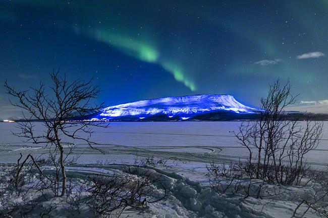 Luminous 100 Finland Saana auroras
