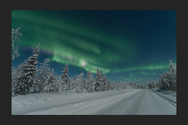 New Year's Eve 2018 auroras