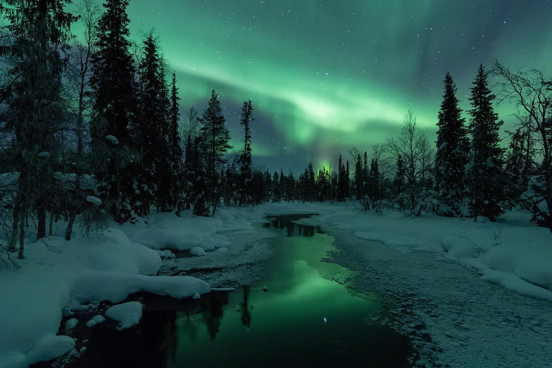 Polarlicht Basecamp März - Polarlicht