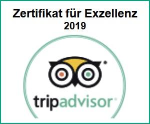 Empfohlen von TripAdvisor