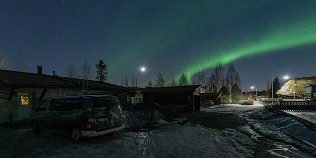 Auroras at home