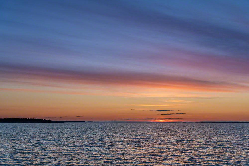 Long exposure summer sunset - 8s