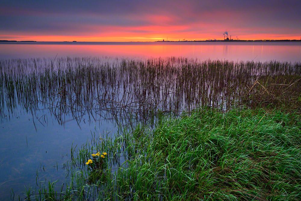 Midnight sunset 2