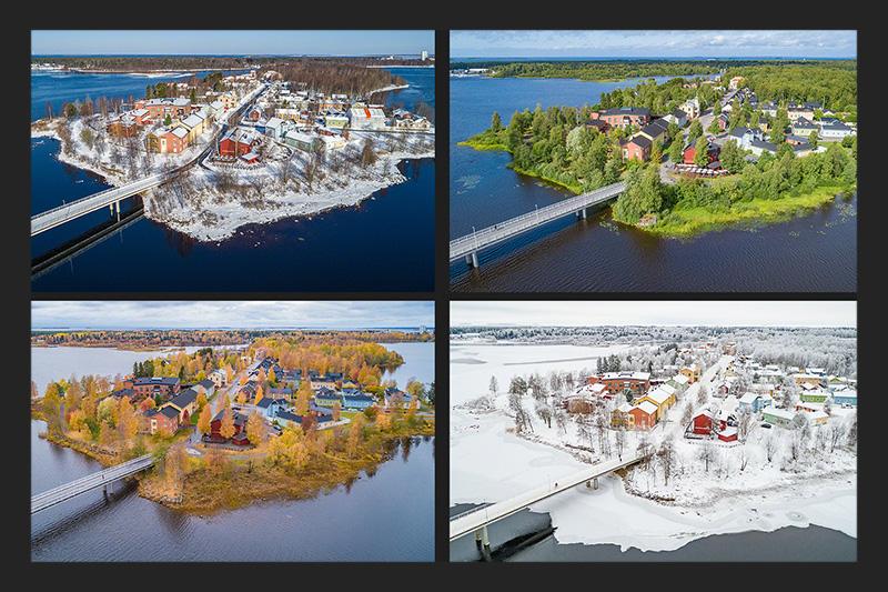 Pikisaari four seasons
