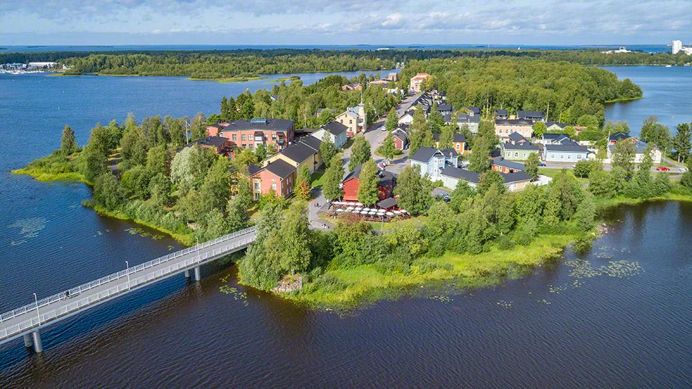 Pikisaari in summer
