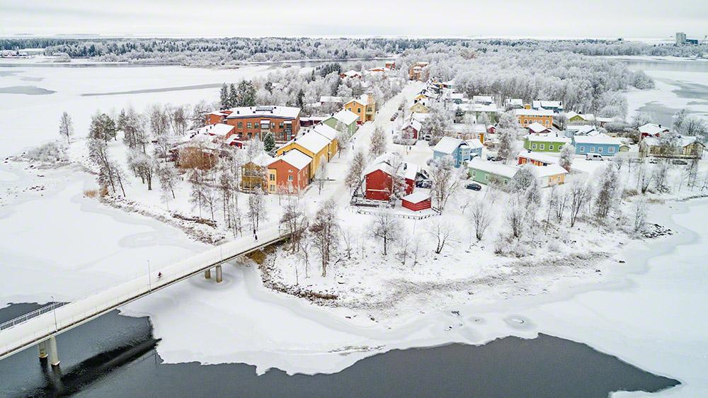 Pikisaari in winter