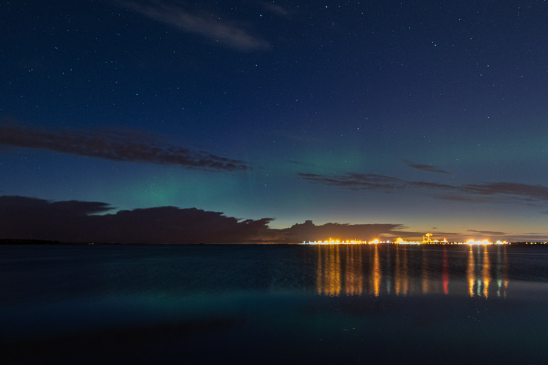 Auroras without