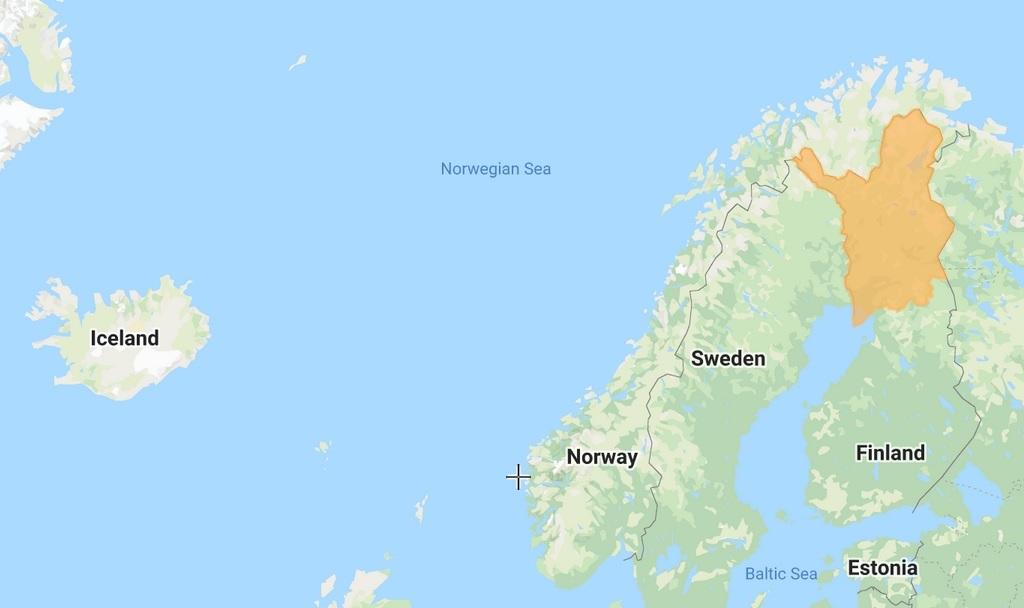 AdventureLapland - Map large