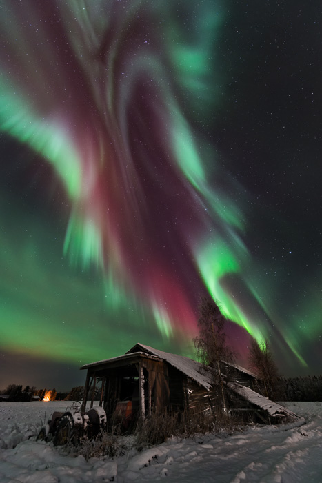 Colors of northern lights - Camera