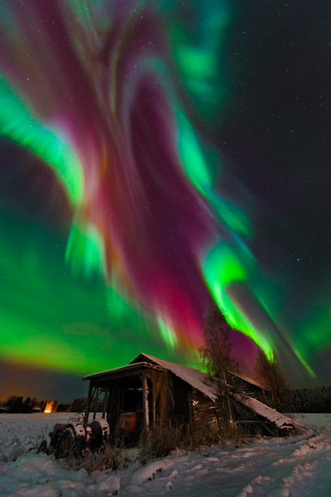 Colors of northern lights - Extreme