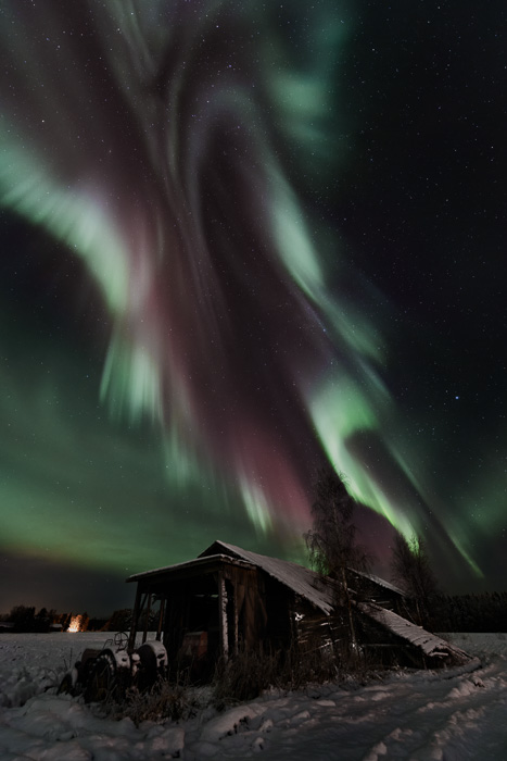 Colors of northern lights - My eyes