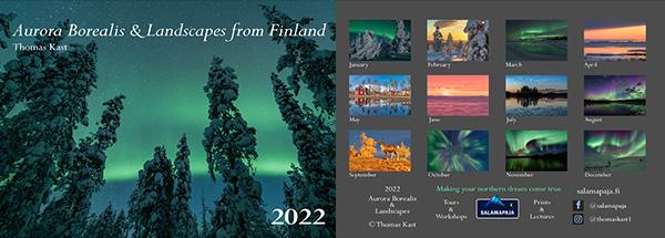 Wall calendar 2021 overview small